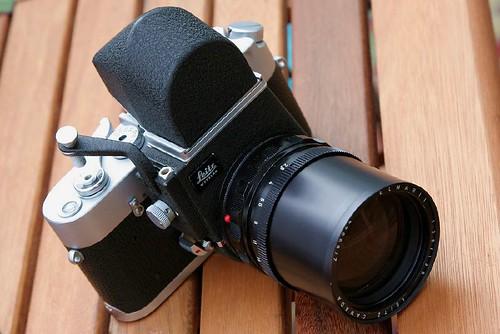 MDa + Visoflex III + 135mm f/2.8 Elmarit
