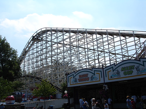 Roller Coaster at HersheyPark, Hershey PA