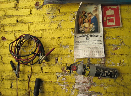 The Car Mechanic's wall