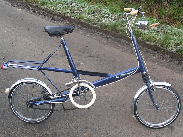 Blue Vintage Wheeled Bike 3