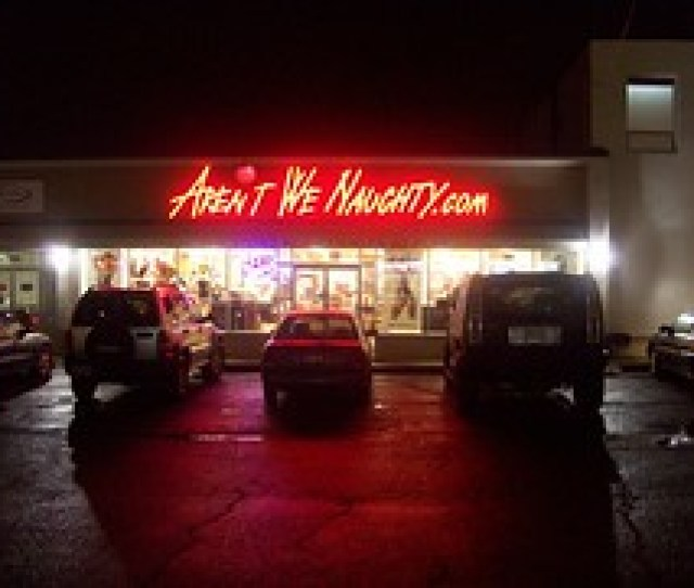 The Arent We Naughty Sex Shop Erm