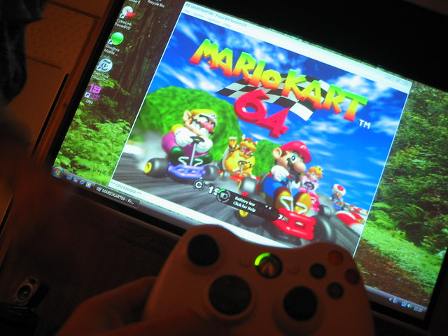 Vista PJ64 Mario Kart Xbox 360 Wireless Controller Flickr Photo Sharing