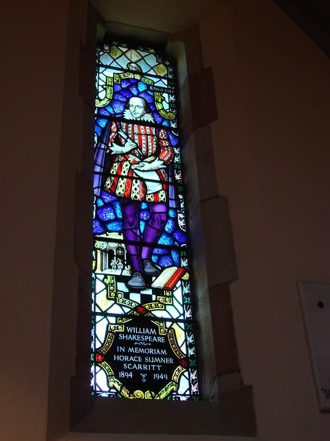 William Shakespeare, All Saints Chapel, Sewanee TN