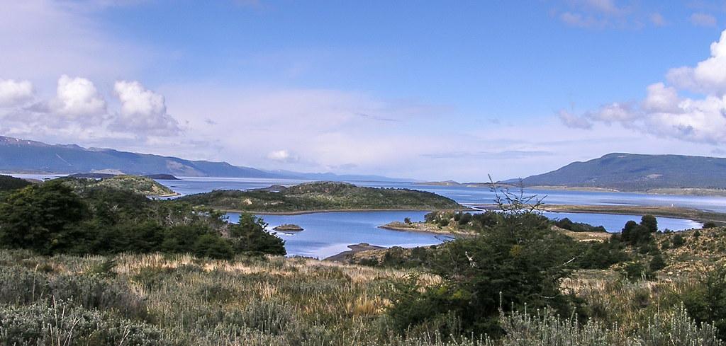 vistas desde Isla Gable Canal Beagle Ushuaia Argentina 127