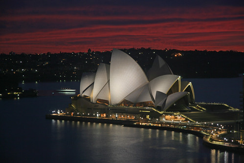 Opera House, Dawn by webmink