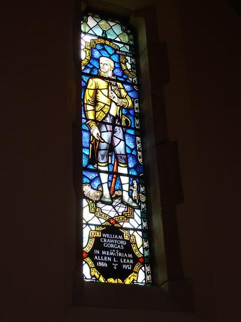 William Crawford Gorgas, All Saints Chapel, University of the South, Sewanee TN
