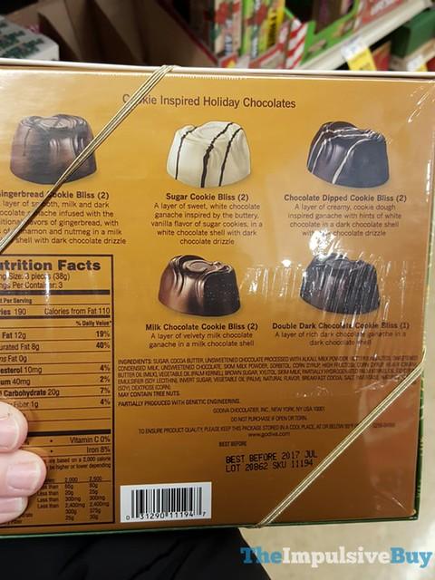 Godiva Cookie Inspired Holiday Chocolates 2