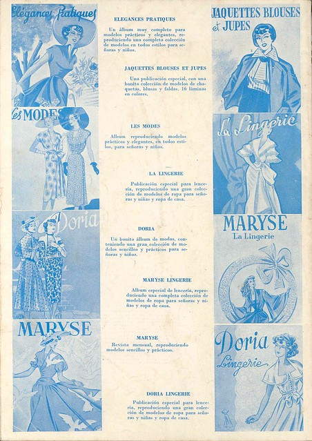 Les Enfants Nº 45, Verão Summer 1952 - contra-capa by Gatochy