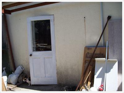 Backyard Door