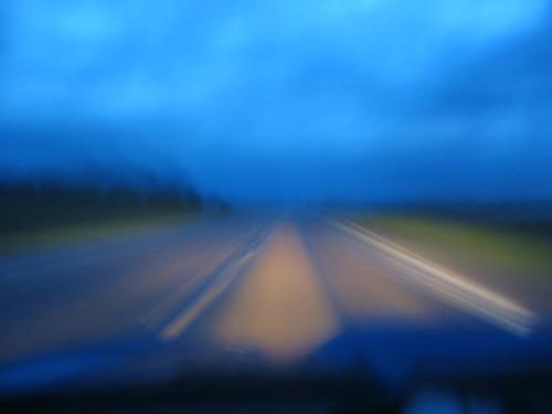Road blur