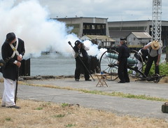Civil war era cannon blast by fatllama