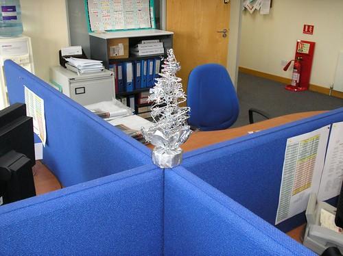 Jul på kontoret (bild lånad från Flickr)