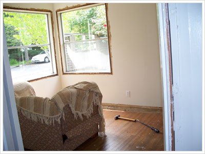 Before pic of office/guest room