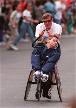 Dick and Rick Hoyt: A Unique Father and Son Story | Wanderings