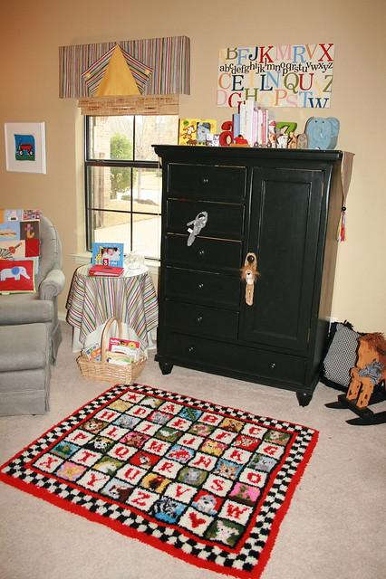 Nursery v2: View 1 from Door