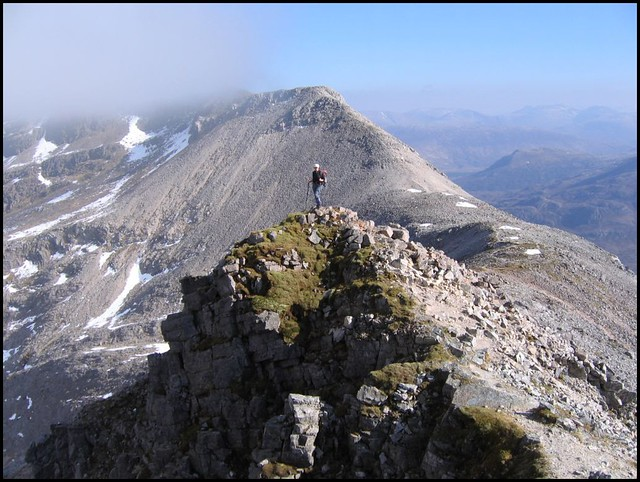 Beinn Eighe main ridge