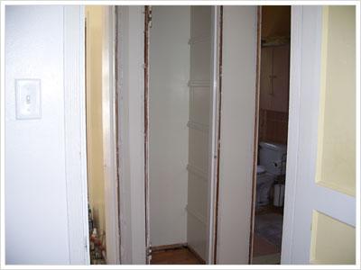 Pantry and Linen Closet