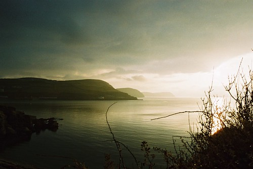 A moody Port Erin Bay