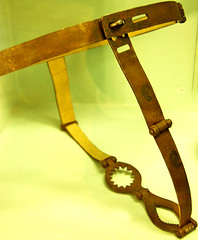 Chastity Belt at the Semmelweiss Medical Museum