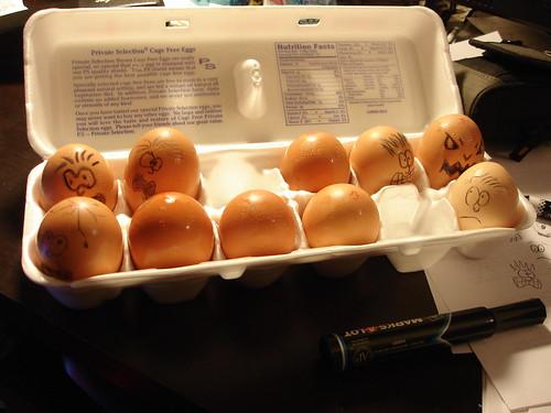 Dawn of the Eggs
