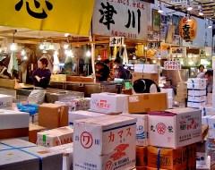 Tokyo -  Tsukiji Fish  Market