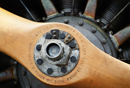 Sopwith Pup Propellor engine detail by gnawledge wurker