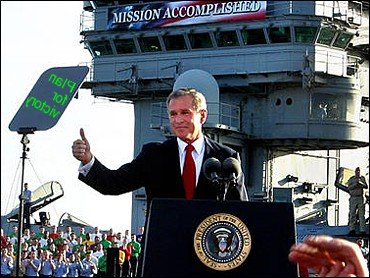 """From """"Mission Accomplished"""" to """"Plan for Victory"""" in Two Years!"""