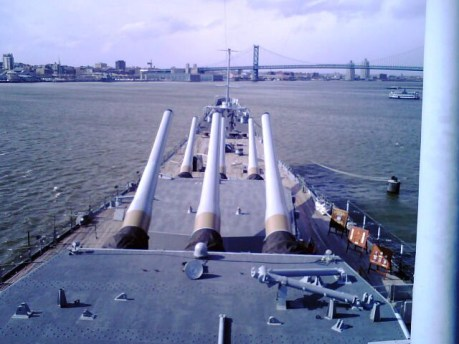 Guns of Battleship New Jersey