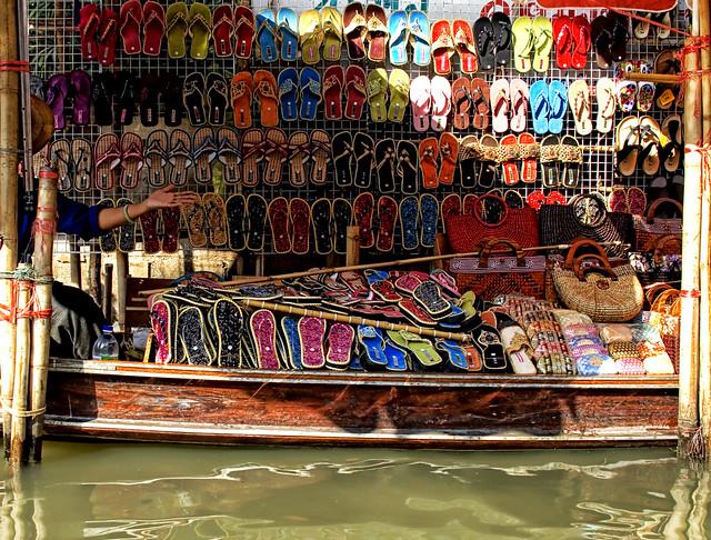Flip Flops on the River