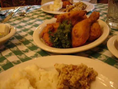 Fried Chicken Supper at Bavarian Inn, Frankenmuth MI