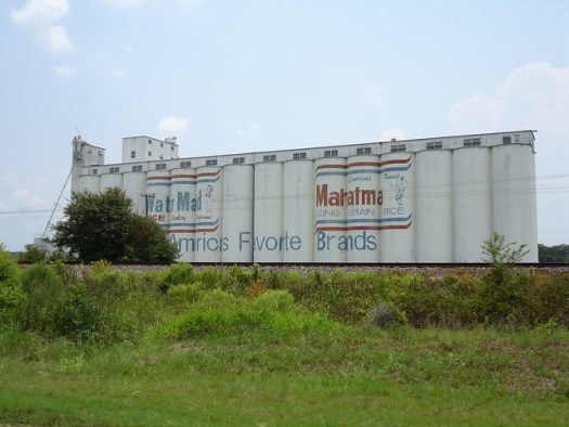 Mahatma Long Grain Rice, Outside Crowley LA