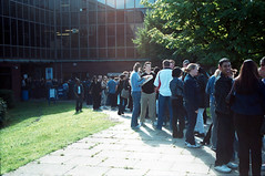 Exam Results Day 2001 - Queue