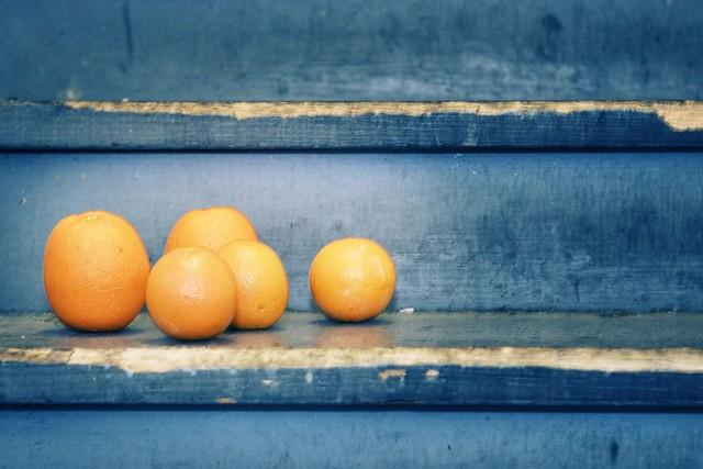 Naranjas.  Algunos derechos reservados por Christine ™
