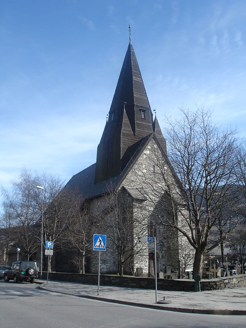 Voss church, Norway