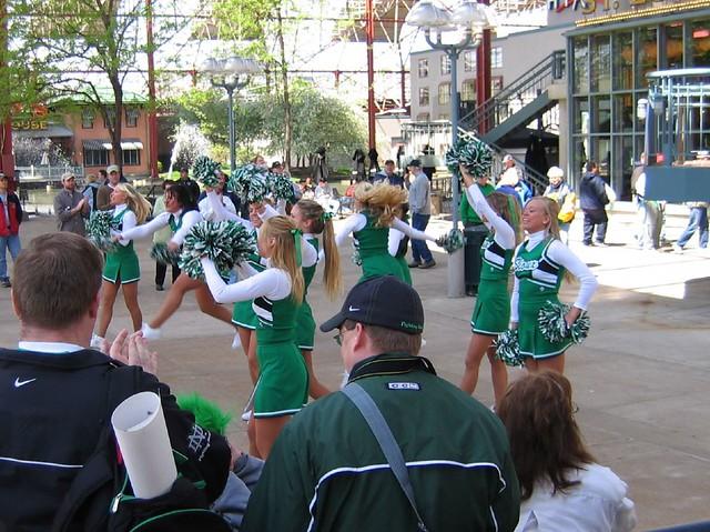 North dakota cheerleaders!  not bad!