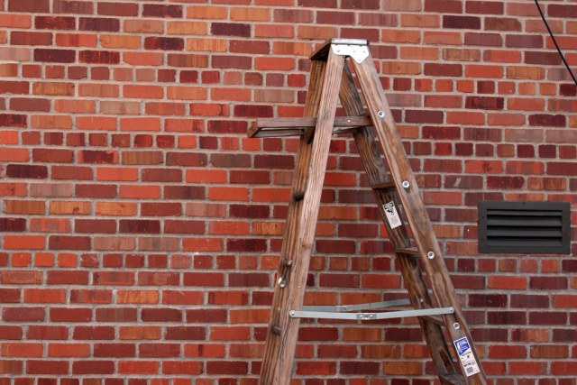 Ladder and Brick