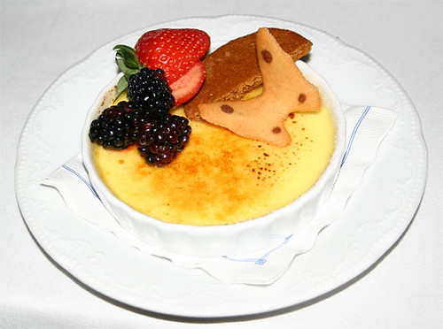 Creme Brulee, Ritz-Carlton in New Orleans