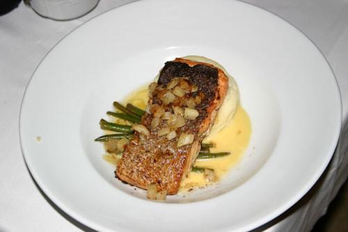 Salmon, Ritz-Carlton in New Orleans