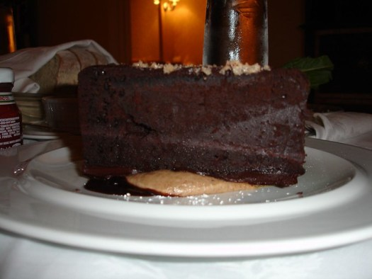 Chocolate Cake from Capitol Grille at The Hermitage Hotel, Nashville TN