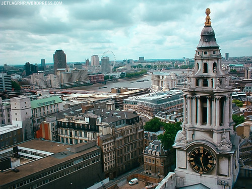 view from st. paul's cathedral
