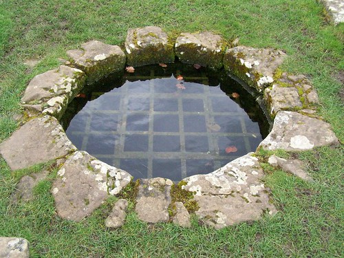 The well in the HQ courtyard
