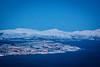 Tromsø and snow covered peaks