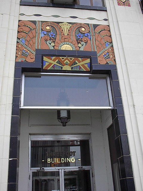 Threefoot Building Detail, Meridian MS