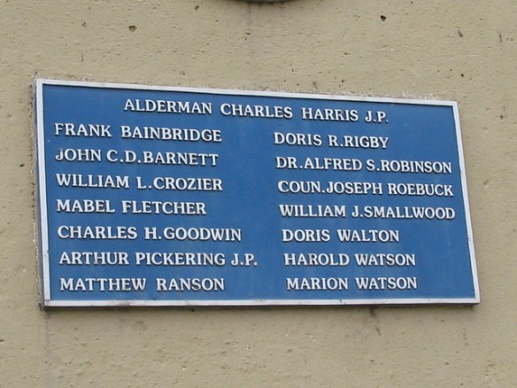 Zetland Club Redcar Plaque