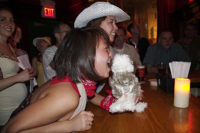 girl bites dog