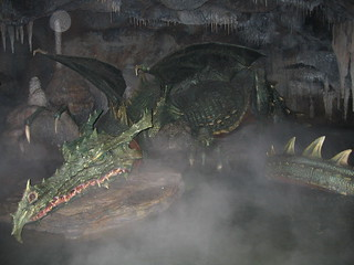 Dragon under Sleeping Beauty Castle, Disneyland Paris