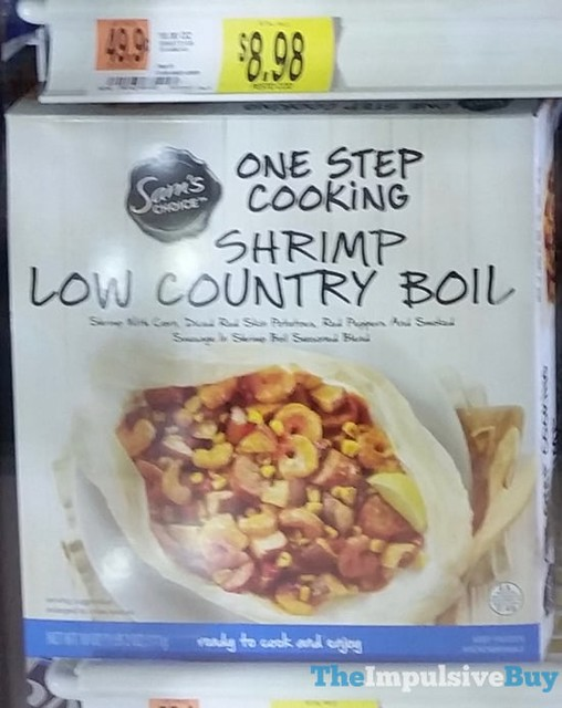 Sam's Choice One Step Cooking Shrimp Low Country Boil