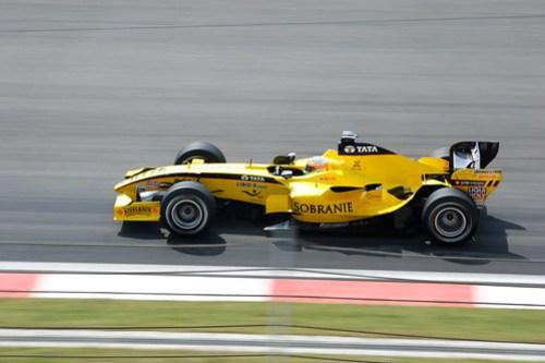 Shanghai F1 Race