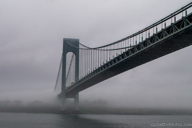 Bridge in Fog 22/100