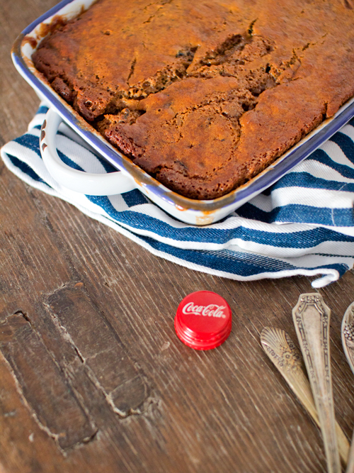 sticky date bourbon & cola pudding | spicyicecream
